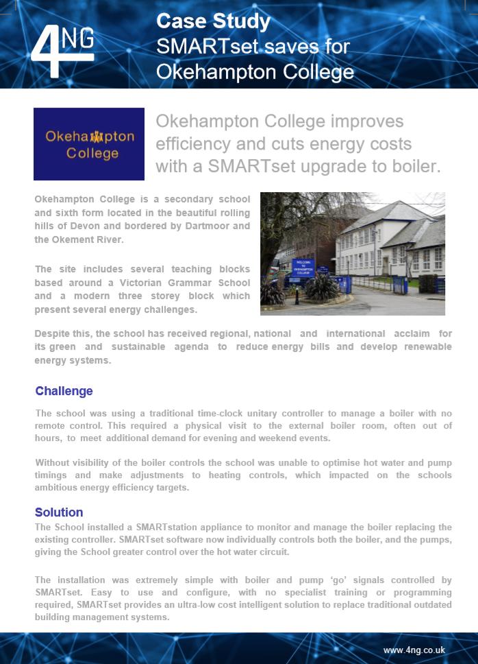 Okehampton College Case Study