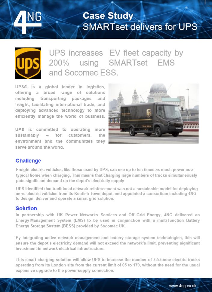 UPS Case Study