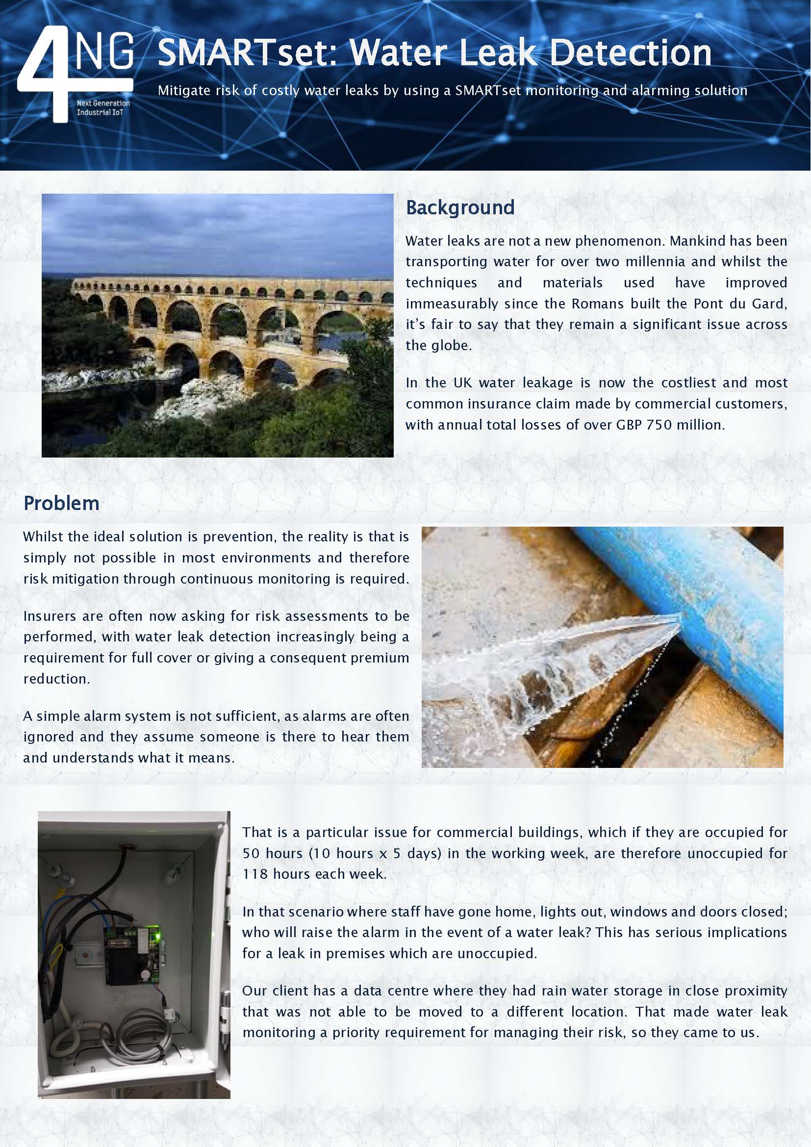 Water Leak Detection Use Case