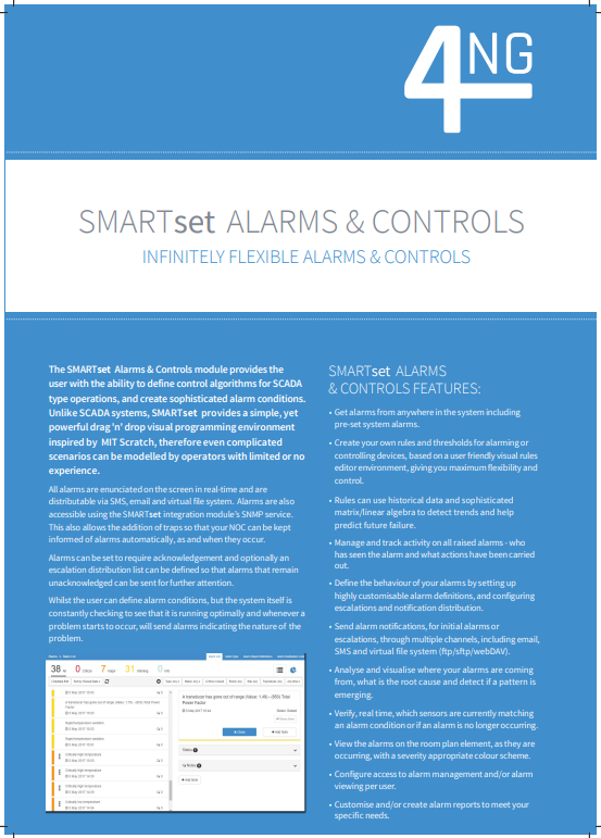 Alarms & Controls